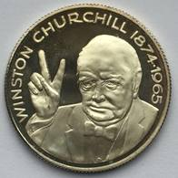 WINSTON CHURCHILL 1874-1965 WESTMINSTER ABBEY COIN - Maundy Sets & Commémoratives