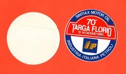 Auto Rally Targa Florio Adesivo 1986 X 70° Edizione - Adesivi