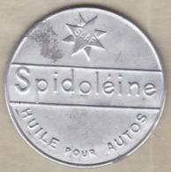 "Timbre Monnaie "" SPIDOLEINE "" Huile Pour Autos. 10 Centimes Semeuse - Monetari / Di Necessità"