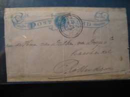 GOUDA 1894 To Rotterdam Cancel Postal Stationery Card NETHERLANDS Holland - Brieven En Documenten