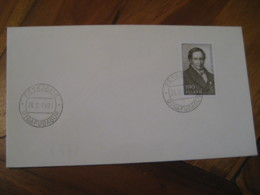 REYKJAVIK 1981 Finnur Magnusson Stamp On Cancel Cover ICELAND - 1944-... Repubblica