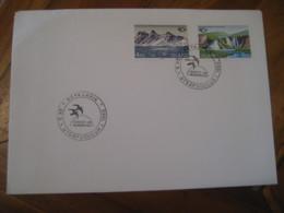 REYKJAVIK 1983 Ferdist Um Nordurlond 2 Stamp On Cancel Cover ICELAND - 1944-... Repubblica