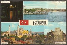 Cpm Istanbul (turquie) Multivues (bon Etat) - Turquie