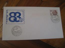 HAFNARFJORDUR 1983 Chlamys Islandica Shell Coneshell Stamp On Cancel Cover ICELAND - 1944-... Repubblica