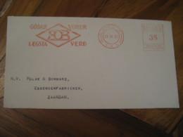 REYKJAVIK 1938 To Zaandam HOB Meter Mail Cancel Cover ICELAND - 1918-1944 Unabhängige Verwaltung