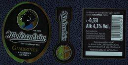 Autriche Lot 3 Etiquettes Bière Beer Labels Mohrenbräu Gambrinus - Bière