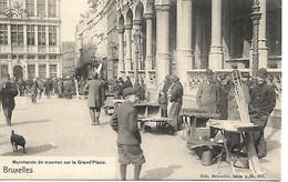 Bruxelles Marchands De Mouron - Marktpleinen, Pleinen