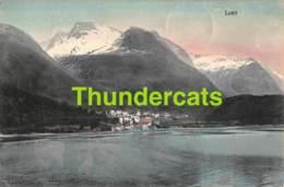CPA  NORGE NORWAY  LOEN - Norvège