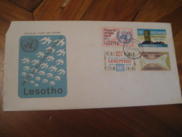 MASERU 1970 United Nations 25th Anniversary FDC Cancel Cover LESOTHO - Lesotho (1966-...)