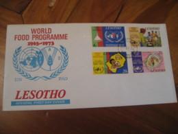 MASERU 1973 World Food Programme FDC Cancel Cover LESOTHO - Lesotho (1966-...)