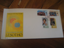 MASERU 1983 Commonwealth Day QEII Royalty FDC Cancel Cover LESOTHO - Lesotho (1966-...)