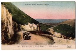 CPA 63 - Puy De Dôme (Puy De Dôme) - 4287. Route Automobile Du Puy De Dôme. Le Grand Tournant - France