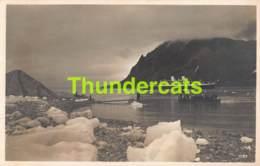 CPA  NORGE NORWAY  PHOTO FOTO HAMBURG SUD M S MONTE ROSA 1931 POLAR EXPEDITION SVALBARD SPITZBERGEN - Norvège