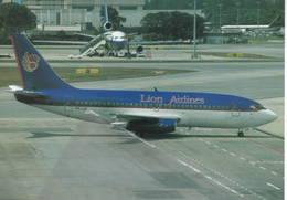 Lion Air - PT Lion Mentari Airlines Indonesia B737-2P5  PK-LIA At Singapore B.737 - 1946-....: Era Moderna