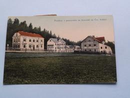 Pozdrav Z Pensionatu Na Kovarne Na Ces Kubici ( Edit.: ? ) 1919 ( See Photo For Detail ) ! - Tchéquie