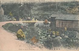 JAPAN - ROAD OF MOGI ( Bridge ) NAGASAKI. - Hand Colored - Japan