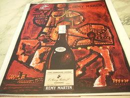 ANCIENNE PUBLICITE COGNAC REMY MARTIN 1964 - Alcohols