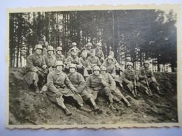 Guerre 39/45 - Groupe De Soldats Allemands  - Photographie Originale   - TBE - 1939-45