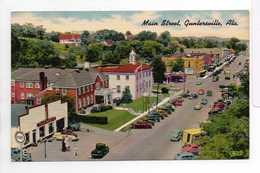 - CPA GUNTERSVILLE (Alabama / USA) - Main Street - - Etats-Unis