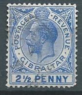 Gibraltar   - Yvert N°  77 Oblitéré    -  Bce 18251 - Gibraltar