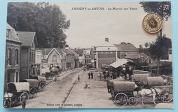 Aubigny-en-Artois, Le Marche Aux Veaux, 1914 - Nord-Pas-de-Calais