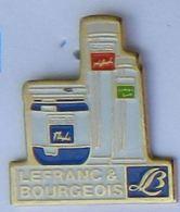 GP205 Pin's PARFUM PERFUME  Lefranc Bourgeois Achat Immediat - Perfume