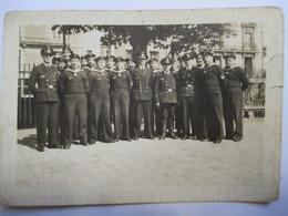 Guerre 39/45 - KRIEGSMARINE - Groupe De Marins Et Officiers -  Photographie Originale - 1941   - Assez BE - 1939-45