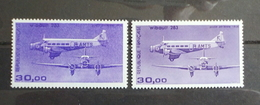 Paire N°59 Et 59b De 1986 Poste Aerienne - Poste Aérienne