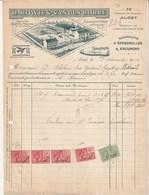 Alost - Fabrique D'espadrille Kroumirs - Rowies VDBorre - 1926 - Tres Bon état - Belgique