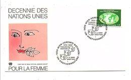 NATIONS UNIES VIENNE FDC 1978 DECENNIE DES DROITS DE LA FEMME - FDC