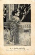 Inde - South Indian Cinema Star - Séries N° 560 - T. P. Rajalakshmi - India