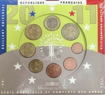 017 - COFFRET BU - EUROS FRANCE - 2011 : Sous Blister - France