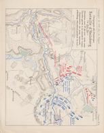 8 Napoléon 1806/07 Plan Bataille D'Heilsberg - Documents Historiques