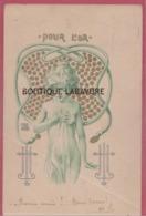 ILLUSTRATEUR --Josef HART---Pour L'Or---Femme Nue Entourée De Serpent - Illustrateurs & Photographes