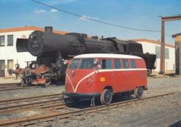 VW Bus Draisine Klv 20-5022 Und Dampflok 52 4544 In Naumburg, Ungelaufen - Treni