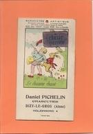 Carte Postale - Barômètre Artistique - Le Chasseur Chassé  - D. Pichelin Charcutier à DIZY-le-GROS - A Systèmes