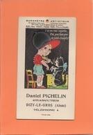Carte Postale - Barômètre Artistique - J'ai Une Voix Superbe....  - D. Pichelin Charcutier à DIZY-le-GROS - A Systèmes