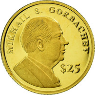 Monnaie, Liberia, 25 Dollars, 2000, American Mint, FDC, Or, KM:630 - Liberia