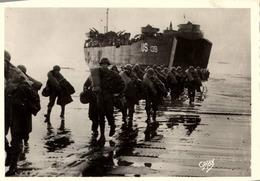 Militaria > Manoeuvres / DEBARQUEMENT  NORMANDIE    /LOT 744 - Manoeuvres