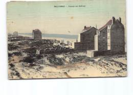 Malo Les Bains  Terminus  - Panorama Vers Dunkerque.   Carte Toilée. - Malo Les Bains