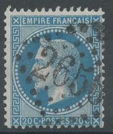 Lot N°48573  Variété/n°29B, Oblit GC 2656 Nice, Alpes-Maritimes (87), Filet NORD - 1863-1870 Napoleon III With Laurels