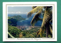 Mayotte Meilleurs Voeux ( Carte De Voeux ) - Mayotte