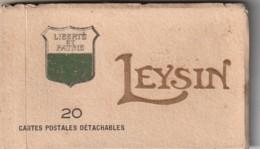 **  CARNET De 20 Cpa  LEYSIN - *** Les Hotels, Le Viaduc, Sanatorium, Chamosaire, Ai Et Chalets, Clinique ..Complet TTB - VD Vaud