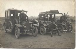 Malo Les Bains  Militairen En Auto's 1914 - Malo Les Bains