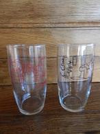 Verre A Biere VEZELISE (illustré Par Barberousse ) 2 Verres - Glasses