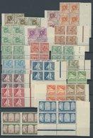 """1926, Landesansichten In Viererblocks, Postfrischer Prachtsatz -> Automatically Generated Translation: 1926, """"country Vi - Algerien (1962-...)"""