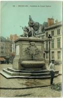 Bruxelles. Fontaine Du Grand Sablon. - Bauwerke, Gebäude