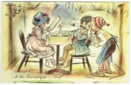 """Illustrateur : Germaine Bouret. Enfants.  """"et Du Champagne .....brut - Bouret, Germaine"""