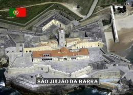 Portugal Sao Juliao Da Barra Fortress Lighthouse New Postcard Leuchtturm AK - Faros