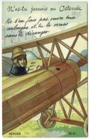Oostende. Illustrateur. Carte à Système. Avion. N'as-tu Jamais Vu Ostende...... - Oostende